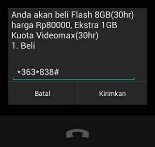 Kode Paket Internet Telkomsel Murah 363 838