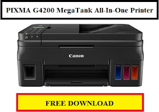 CANON PIXMA G4200 MegaTank All-In-One Printer Driver