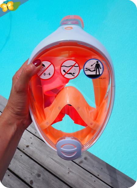Masque Easybreath junior - Subea