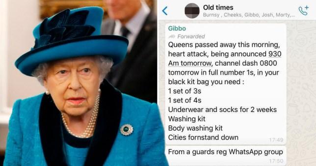 er Majesty Queen Elizabeth II is not dead