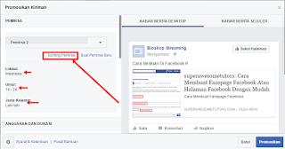 Cara Setting Iklan Fb Ads Dengan Target Negara Yang Di Inginkan Agar Rp 1