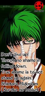 Shintaro Midoriam ( Kuroko no basket ) anime quotes image