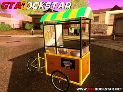 Bike Carrocinha de Lanches para GTA San Andreas