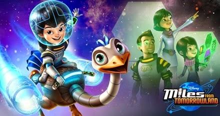 Infoanimation Com Br Disney Junior Estreia A Nova Serie Infantil Miles Do Amanha
