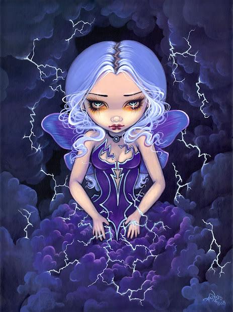Jasmine Becket Griffith Fairies Art