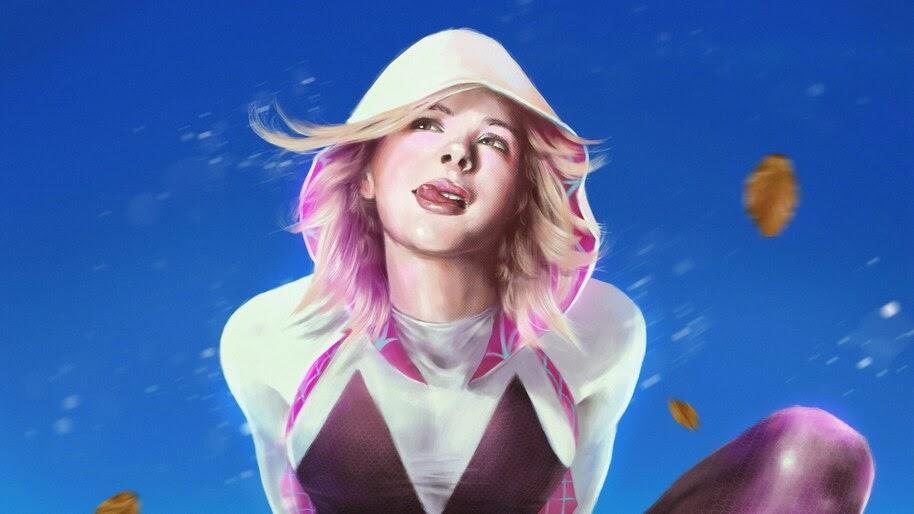 Gwen Stacy, Spider-Gwen, Marvel, Comics, 4K, #6.2069