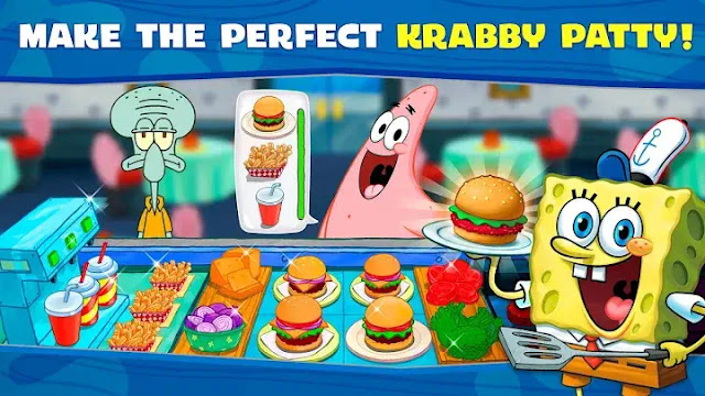 SpongeBob Krusty Cook-Off Mod APK