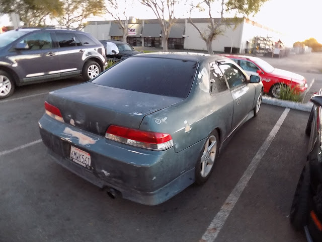 1997 Honda Prelude before complete paint job at Almost Everything Auto Body.