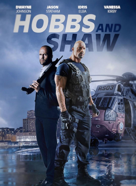 Fast & Furious Presents: Hobbs & Shaw (2019) {Hindi