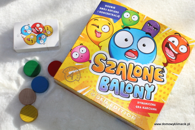 SZALONE BALONY - GRA KARCIANA