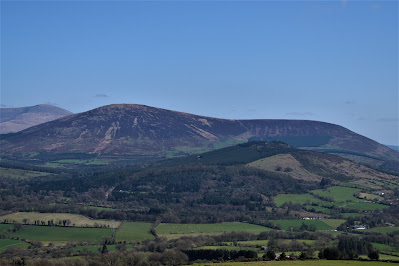 View from Baltinglass Hill