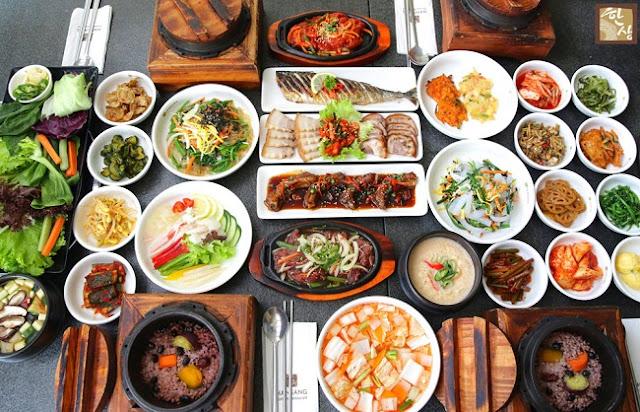 món ngon độc đáo của ẩm thực xứ Hàn