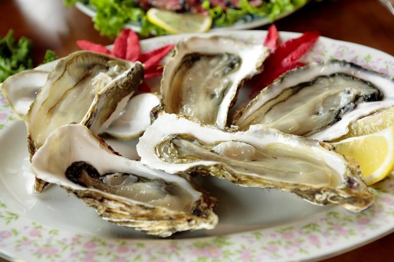 tiram - seafood untuk diet pemuda