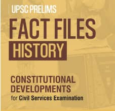 GS SCORE Fact Files History : History Of Constitutional Development PDF