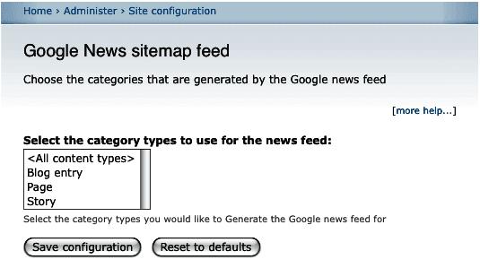 Google Haberler site haritası