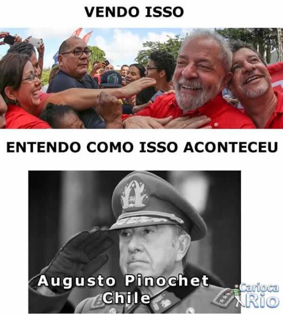 lula Augusto Pinochet
