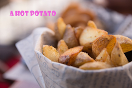 A Hot Potato, Idiom dalam Bahasa Inggris
