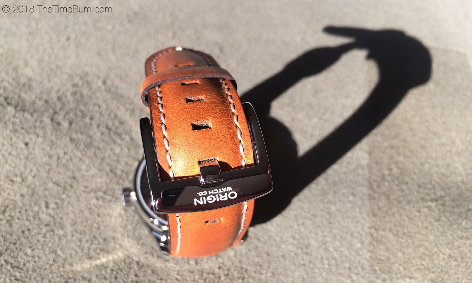 Origin Watch Company Field Watch 2nd Edition strap