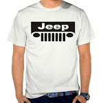 Kaos Distro Pria Jeep SK52 Asli Cotton