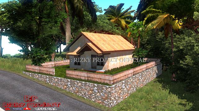 Model Map ETS2  Rumah Sederhana