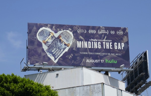 Minding the Gap documentary billboard