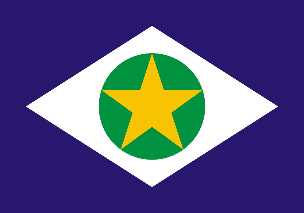Bandeira do estado brasileiro de Mato Grosso