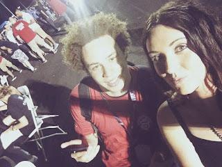 Marcus (kiri) bersama teman wanitanya. Foto: istimewa updetails.com