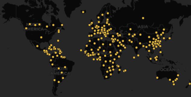 Coronavirus death cases all over the world
