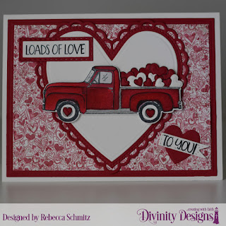 Stamp/Die Duos: Loads of Love Paper  Collection: Heart and Soul  Custom Dies: Ornate Hearts, Rectangles, Double Stitched Rectangles, Double Stitched Pennant Flags