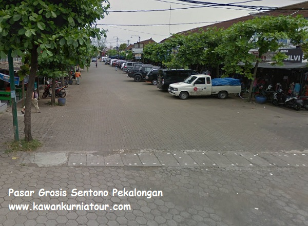 pasar grosir sentono batik pekalongan