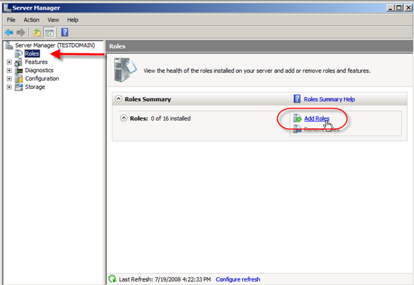 Install Active Directory Domain Services in pictures, Install Active Directory Domain Services  ,Windows Server 2008
