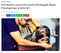 Istri Kawin Lagi Karena Suami Meninggal, Siapa Pasangannya di Akhirat? - Kajian Islam Tarakan