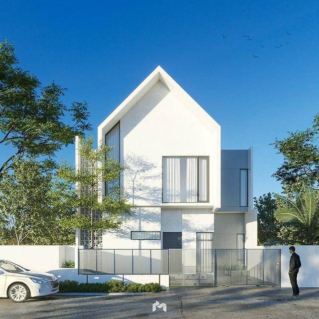 Jasa Desain Rumah Mewah 1 Lantai Modern Terbaru