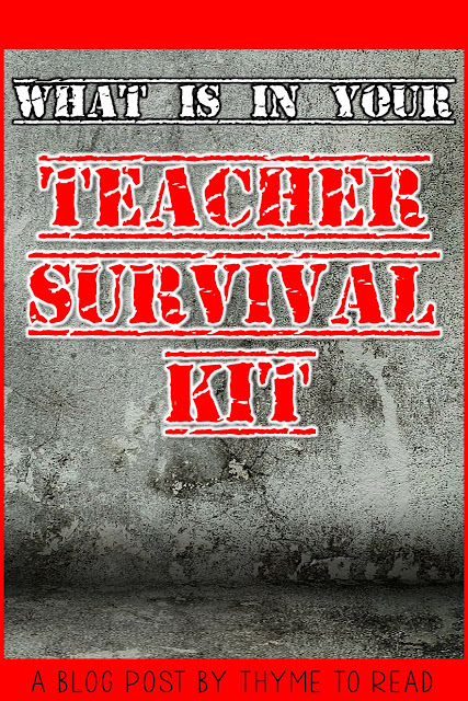dIdeas for what to keep in your personal teacher kit. Great tips for first year teachers.