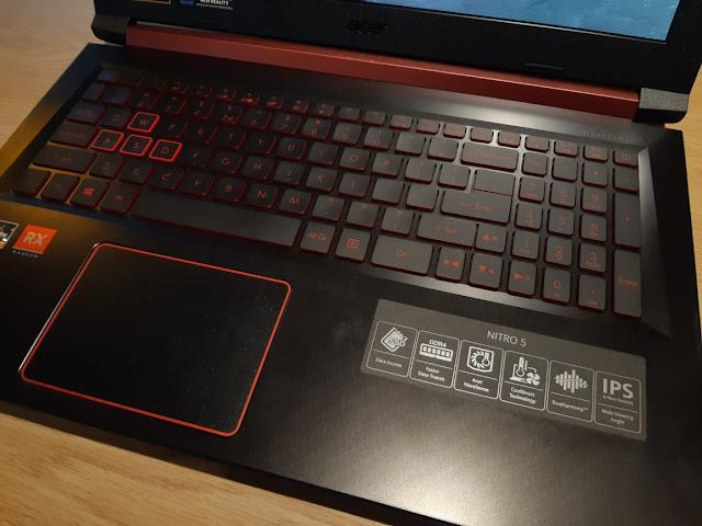 gaming laptop acer