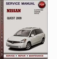 nissan quest service manual