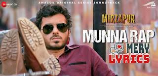 Munna Rap Lyrics By Anand Bhaskar
