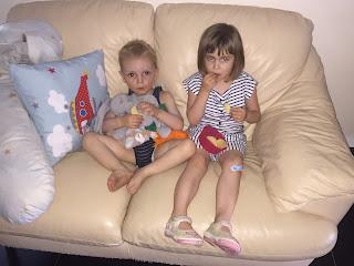 Challenge entre blogeuses juin 2019 : mes enfants
