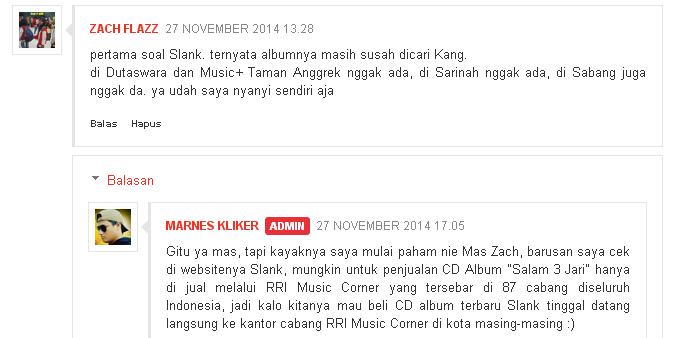 Ini Lho Tempat Penjualan CD Album Baru Slank 'Salam 3 Jari'