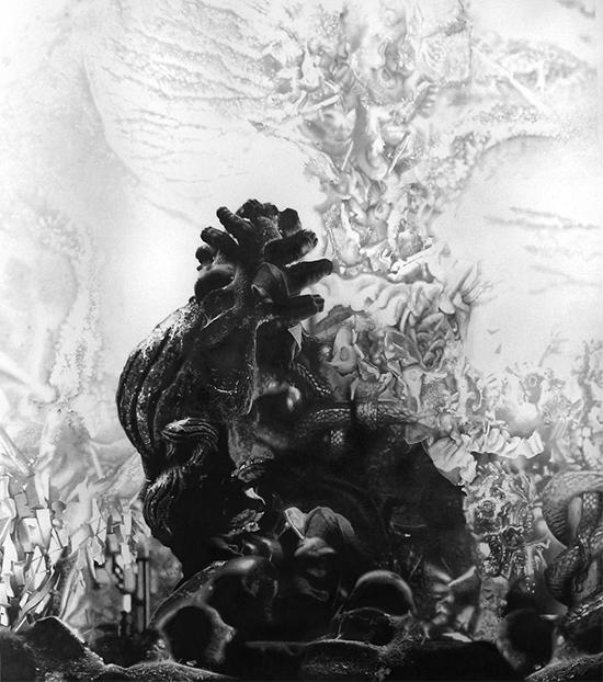 Tudi Deligne La Demoiselle aux ogives, 2019 graphite on paper 90 x 80 cm