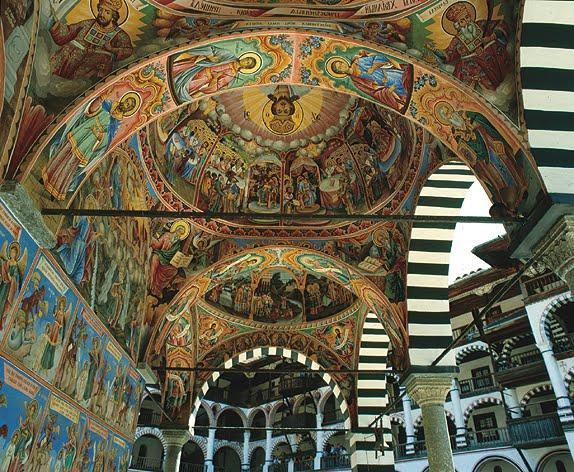 Nativity Church at the Rila Monastery