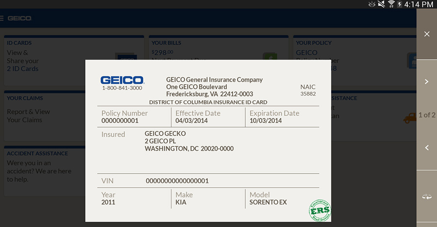 Geico Auto Insurance Company Phone Number