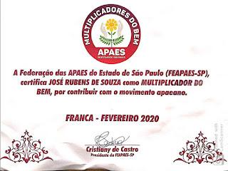 APAE de Registro participa do II Capacitação para Dirigentes em São Pedro-SP
