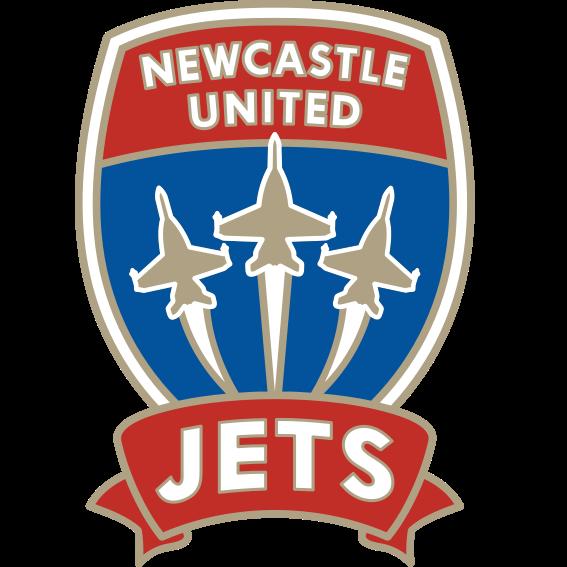 Logo Klub Sepakbola Newcastle Jets PNG