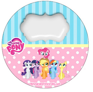 My Little Pony Toppers or Free Printable Candy Bar Labels.