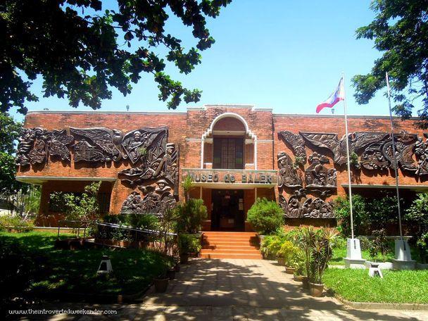 Facade of Museo de Baler
