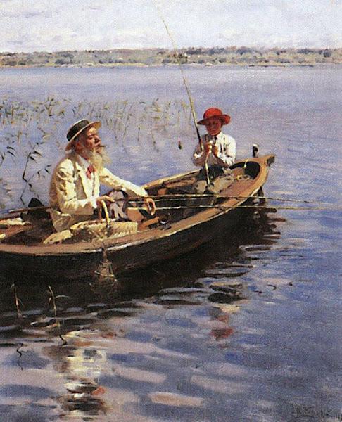 Маковский Владимир Егорович - Рыбак. Финляндия. 1899