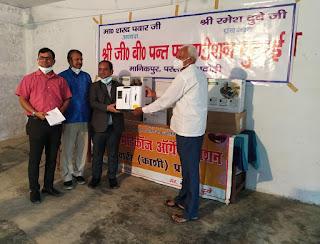 शरद पवार की संस्था द्वारा यूपी में कोरोना मरीजों के लिए निःशुल्क आक्सीजन कान्सट्रेटर्स का वितरण | #NayaSaberaNetwork