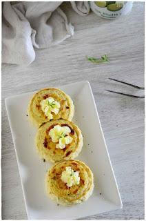 Pastel de calabacin y patata- Pastel con calabacin- flan de queso- flan de calabacín- flan salado