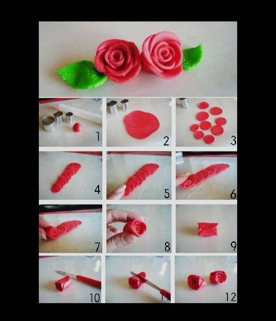 Cara Membuat Bunga Mawar Dari Plastisin Lilin Mainan